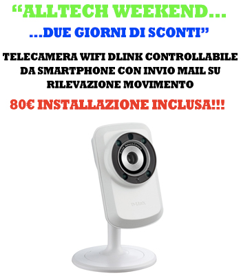 offerta telecamera wireless