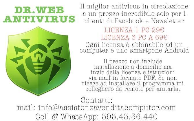 Assistenza computer milano Antivirus